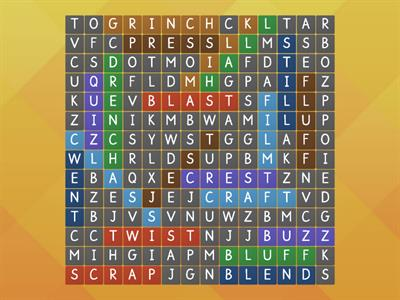 blend word search