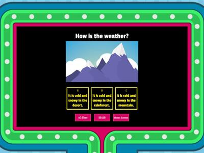 3.9. Weather - gameshow 2