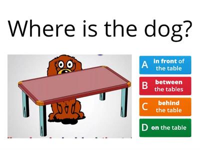 prepositions of place 3