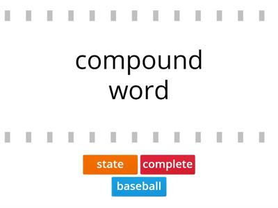 Sub Step 4.1-4.3 (1 Syllable v-e, Compound words, Multisyllabic words with closed and v-e syllable)