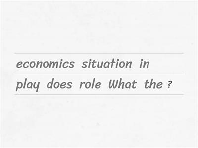 Economists ask themselves...