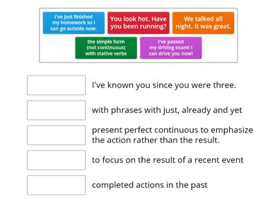 Present Perfect Review (Past Simple, Present Perfect Continuous)