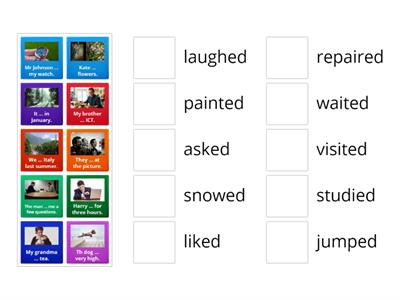 Past Simple - regular verbs (2)
