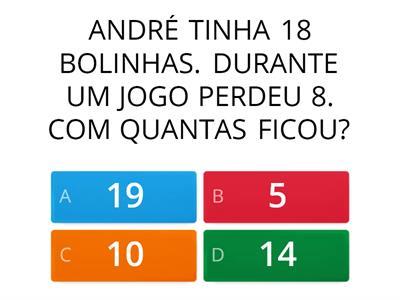Problemas Matematicos Quiz Recursos Didaticos