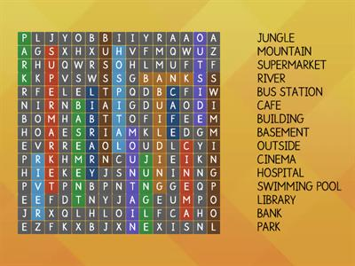 Wordsearch (places)