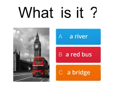 NEA 3 London quiz