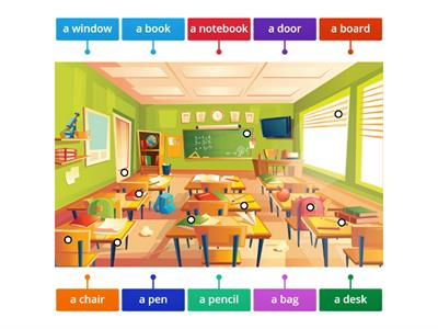 Brainy 4 - unit 1 - Classroom objects 3