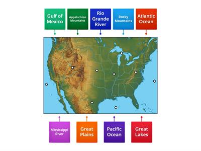 United States Physical Features