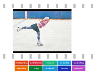 Unit 9 : Get Active : Match the sports