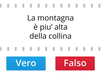 La collina e la montagna :differenze