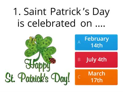 St. Patrick`s Day Review