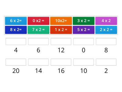 2 times tables
