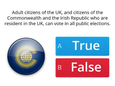 UK Citizenship Test (15 question extract)