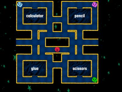 School supplies (maze)