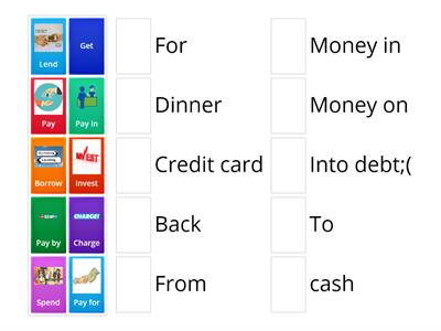 Money prepositions EF