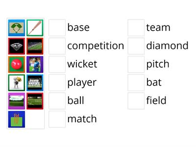 Cricket and Baseball Spark 2 Unit 1