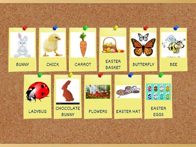 Copia de Copia de EASTER VOCABULARY CI