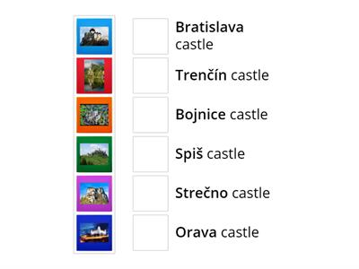 Learning about castles in Slovakia