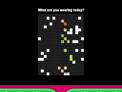 CLOTHES - look and answer the question.