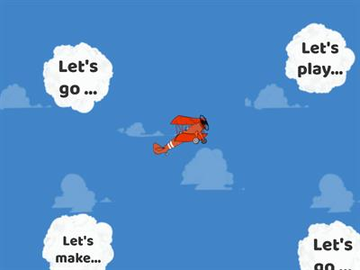 Play in English RED - B6 - Airplanes