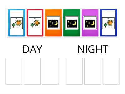 Day and Night- Sorting Symbols