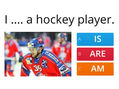 Hockey, is/are/am