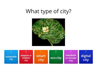 Copy of Image Type of City