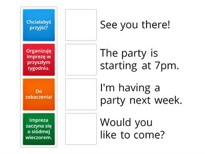 Invitation (your birthday party)