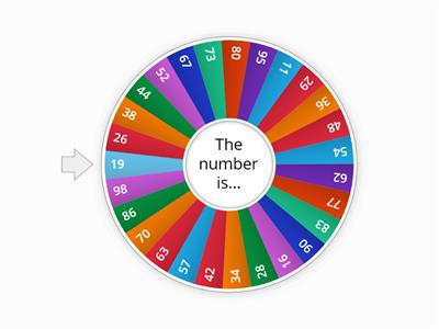 2-Digit Number Wheel