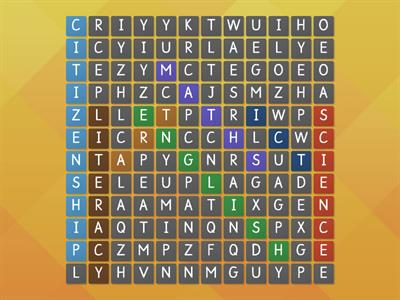 lessons word search