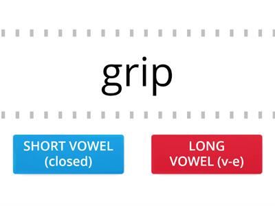 Short or Long? Use the correct vowel sound!