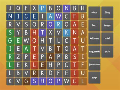 Copy of Town wordsearch