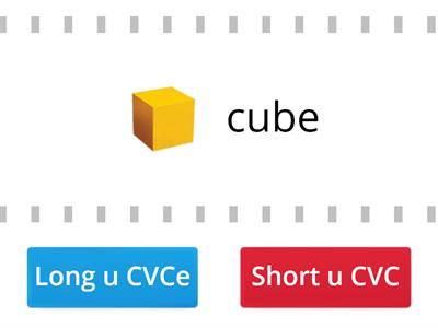 Short (CVC) and Long u (CVCe) Sound