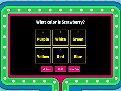 3-6. What color is it?