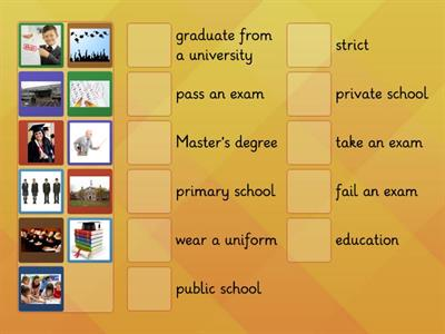 Navigate B1 Education Vocabulary