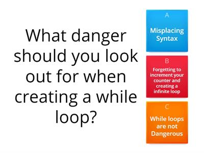 while loop , do...while loop