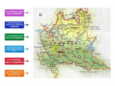 La Lombardia Cartina Fisica.Lombardia Risorse Per L Insegnamento