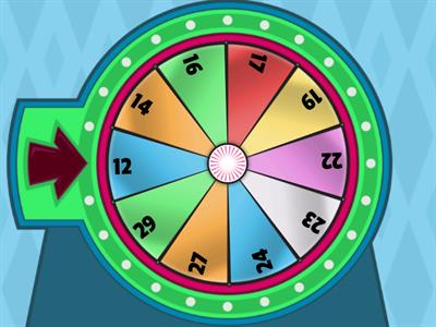 Spinner for Double Digit with Regrouping