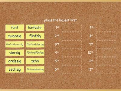 5 Times table German