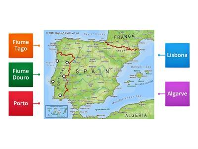 Cartina Fisica Spagna Con Fiumi.Geografia Spagna E Portogallo Risorse Per L Insegnamento