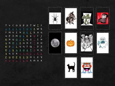 halloween wordsearch - 6 ano
