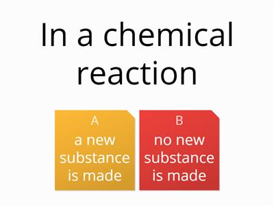 Chemical Reactions Yr 8