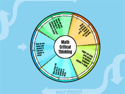 Math Critical Thinking Wheel