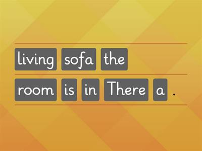 there is / are furniture, rooms and prepositions