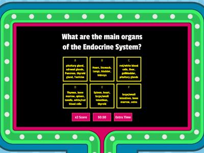 main organs and functions of the systems part 1