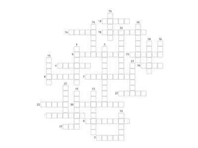 Crossword 5 klasa