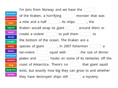 Spotlight 9. Module 3a: In the search of Nessy. Text B