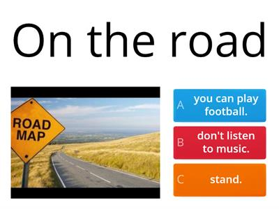 The road safety