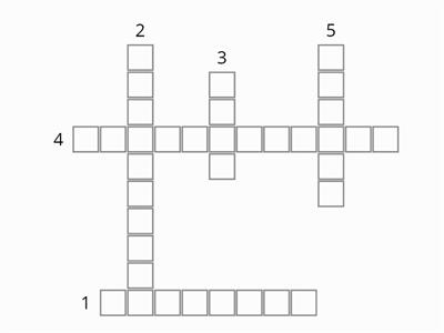 KS3 Geography Crossword: Climate, weather and cloud types