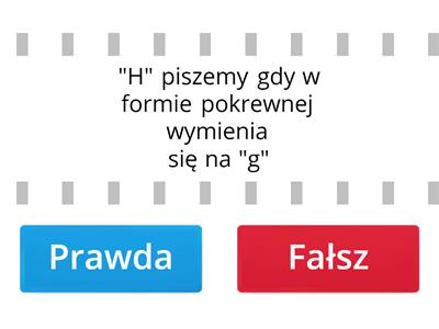 "Pisownia ""H"""